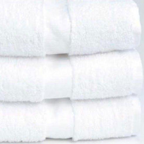 "Hotel Wash Cloth - Welcam 12"" x 12"" 86/14 Cotton / Poly 1 lb. - 300/Case"
