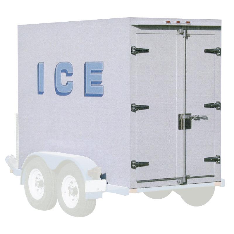 Polar Temp 5X9AD Auto Defrost Refrigerated Ice Transport - 250 cu. ft.
