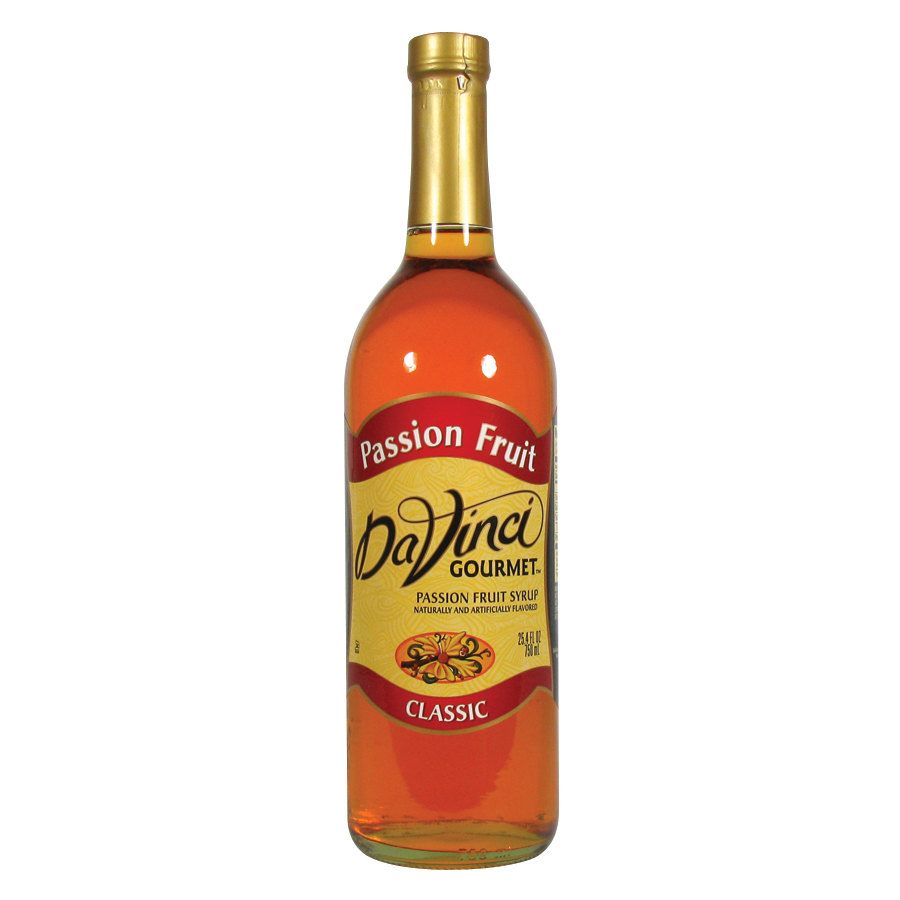 Davinci gourmet passion fruit classic coffee flavoring syrup for Passion coffee