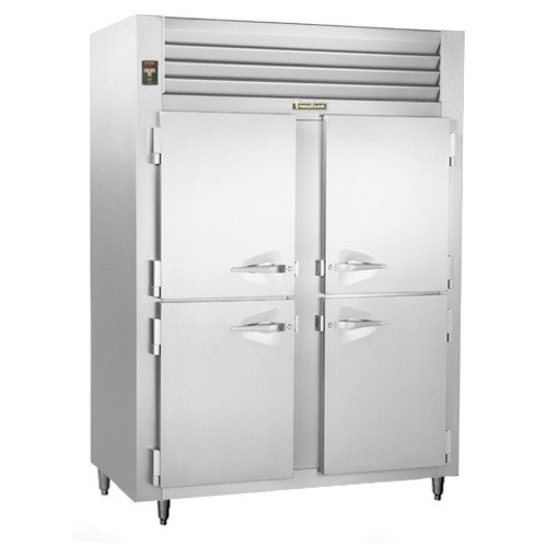 Traulsen ALT232WUT-HHS 51.6 Cu. Ft. Two-Section Solid Half Door Reach In Freezer - Specification Line