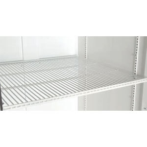 "True 909450 White Coated Wire Shelf - 24 7/16"" x 20 9/16"" Main Image 1"