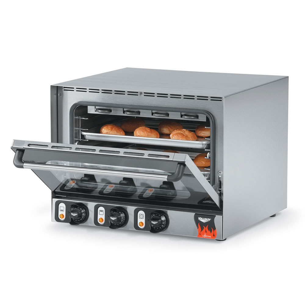Vollrath 40703 Cayenne Half Size Convection Oven / Broiler - 120V