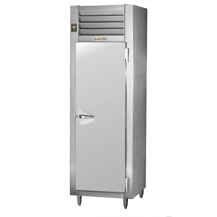 Traulsen Stainless Steel RHF132WP-FHS Solid Door Single Section Reach In Pass-Through Heated Holding Cabinet - Specification Line