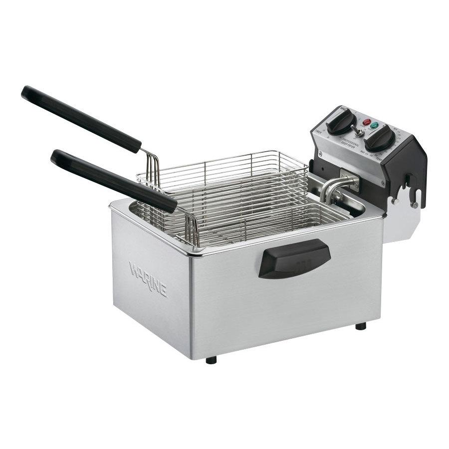 Countertop Deep Fryer : Waring WDF75B 8.5 lb. Commercial Countertop Deep Fryer 208V