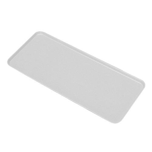 """Cambro 926MT148 White Fiberglass Market Tray 9"""" x 26"""" - 12/Case"""