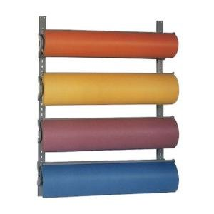 "Bulman T293-20 20"" Horizontal Four Paper Roll Wall Rack"