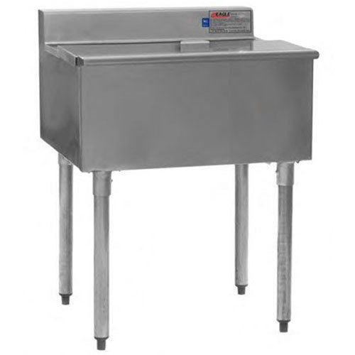 """Eagle Group B42IC-22-7 42"""" Ice Chest with Sealed-In Cold Plate and 8"""" Deep Bin Main Image 1"""