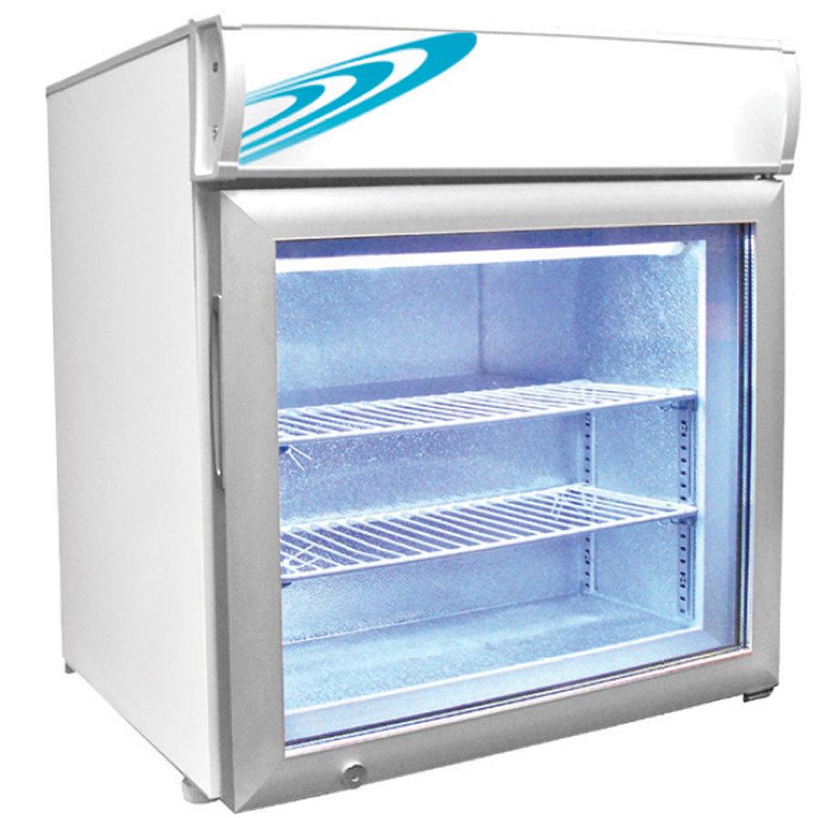 Countertop Shelf : Excellence CTF-2MS Two Shelf Countertop Merchandiser Freezer - 120V