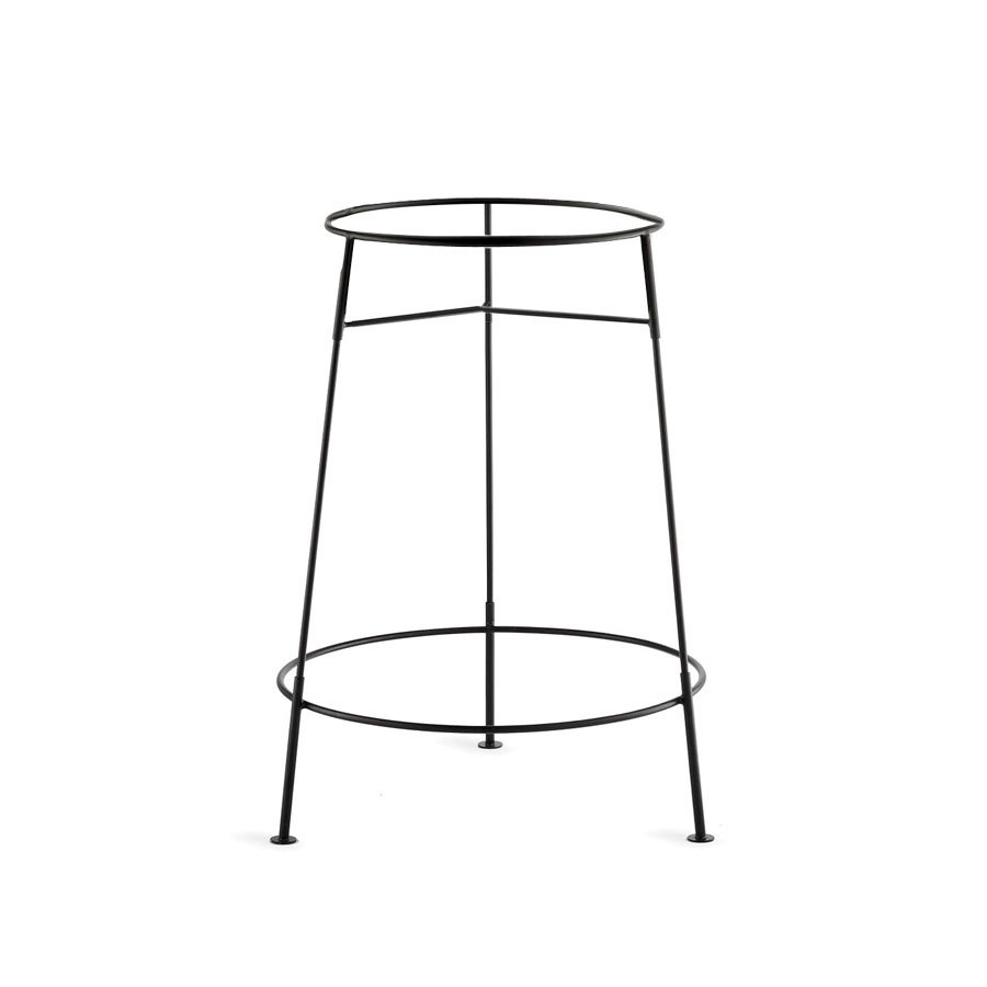 Tablecraft Bts2137 Black Metal Stand For Bt21 Beverage Tub