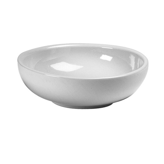Hall China 20480ABWA Bright White 54 oz. Salad / Pasta / Rice Bowl - 12/Case