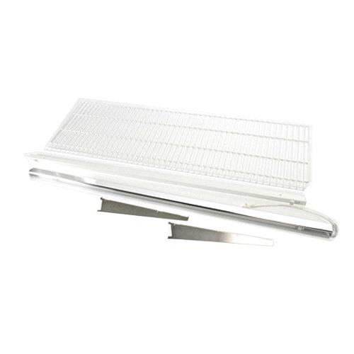 "True 883579 White Coated Wire Shelf with Light - 71 3/8"" x 22 1/2"""