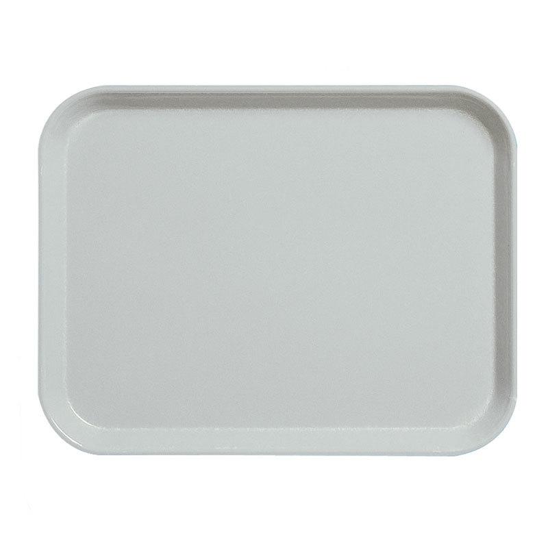 """Cambro 1418CL676 14"""" x 18"""" Steel White Camlite Tray - 12/Case"""