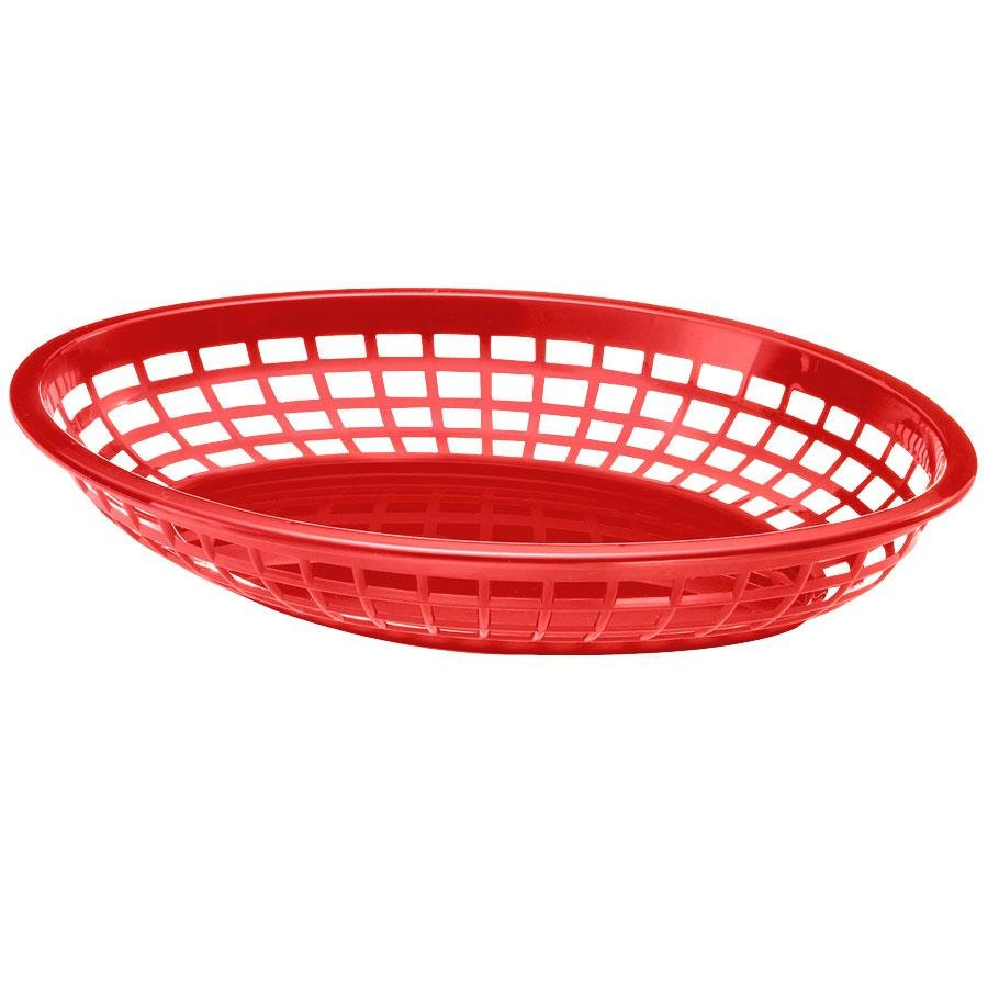Red Fast Food Baskets