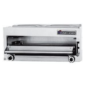 "Garland MIR-34L Master Series Natural Gas 34"" Range-Mount Infra-Red Salamander - 40,000 BTU Main Image 1"