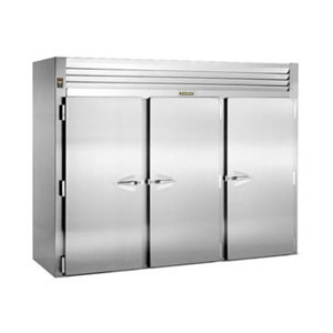 """Traulsen ARI332HUT-FHS 120.5 Cu. Ft. Three Section Roll In Refrigerator for 72"""" Pan Racks - Specification Line"""
