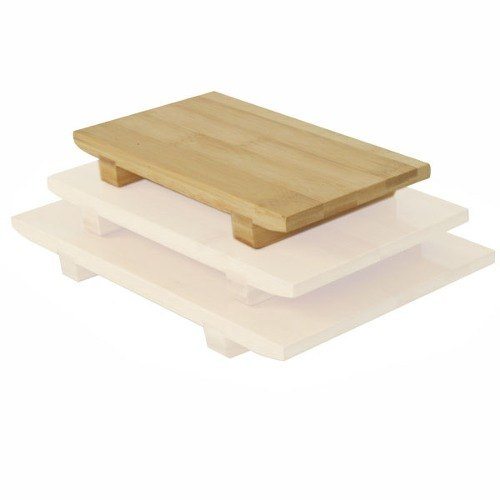 Small Bamboo Sushi Serving Board - 6/Pack