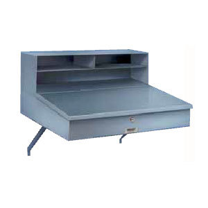 Winholt RDWNSS-1 Stainless Steel Wall Mount Receiving Desk Main Image 1