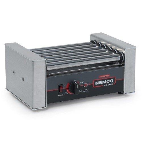 Nemco 8010-220 Hot Dog Roller Grill - 10 Hot Dog Capacity (220V)