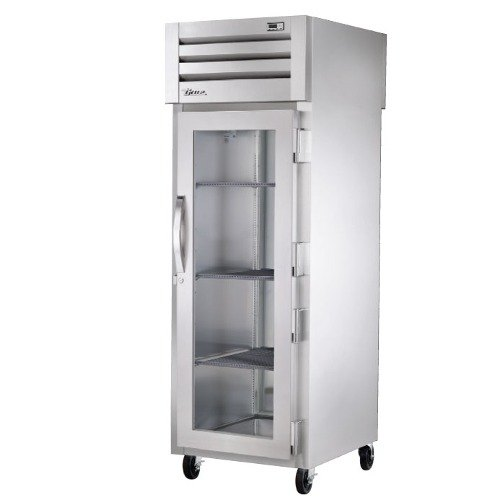 True STG1HPT-1G-1S Specification Series Pass-Through Heated Holding Cabinet with Front Glass Door and Rear Solid Door