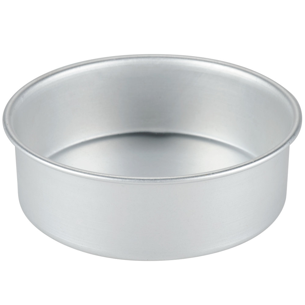 6 Quot X 2 Quot Round Aluminum Small Cake Pan Deep Dish Pizza Pan