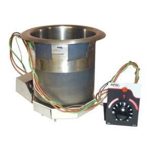 APW Wyott SM-50-7D 7 Qt. Round Drop In Soup Well with Drain - 120V