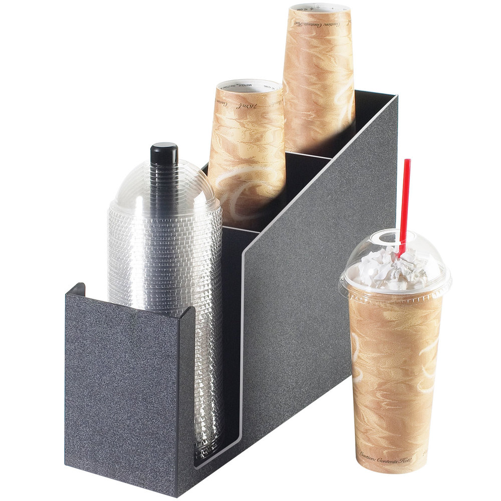 Cal-Mil 724 Cup and Dome Lid Holder / Organizer
