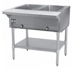 Eagle Group SHT2 Steam Table - Two Pan - Sealed Well, 208V