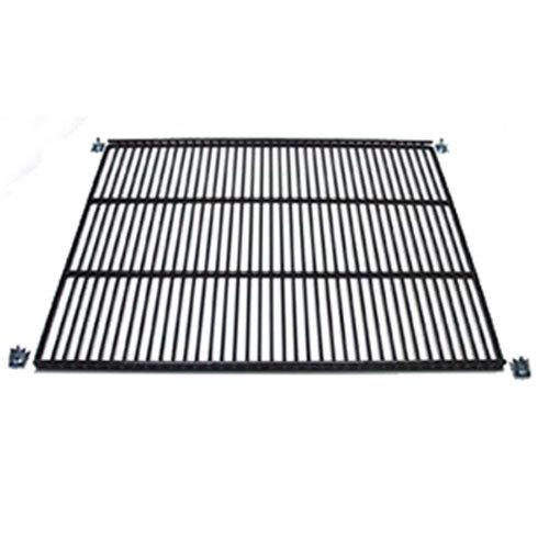"True 909257 Black Coated Wire Shelf - 22 7/8"" x 21 3/4"""
