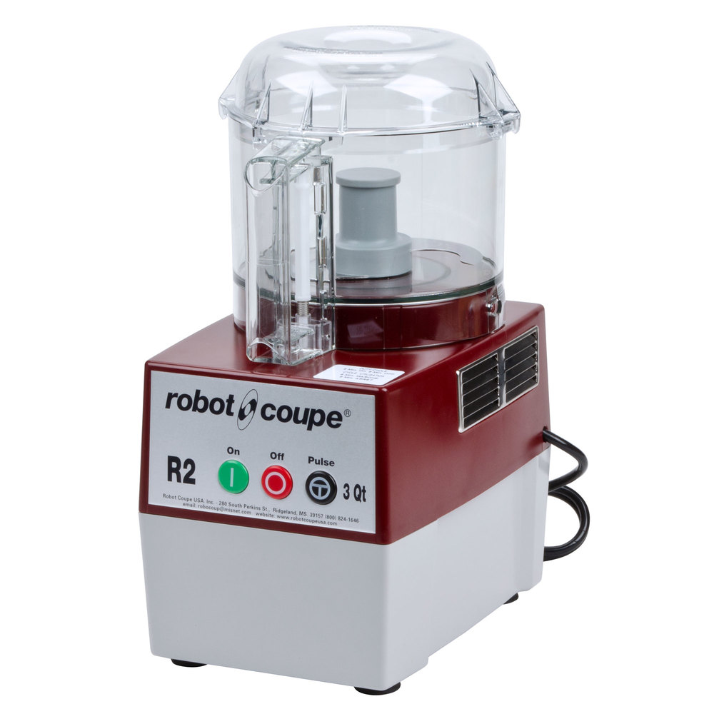 Robot coupe r2bclr food processor with 3 qt clear polycarbonate bowl 1 hp - Robot soupe chauffant ...