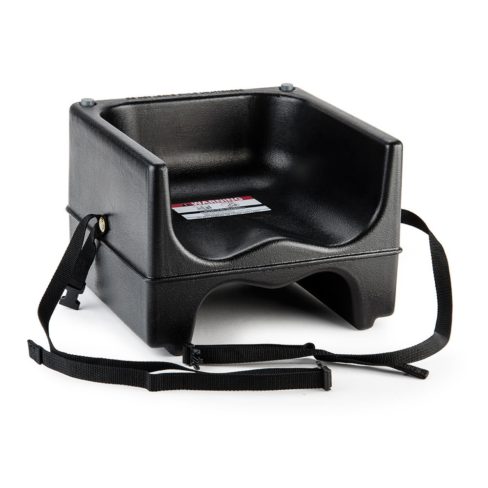 Cambro 200bcs Dual Seat Booster Chair With Strap Black