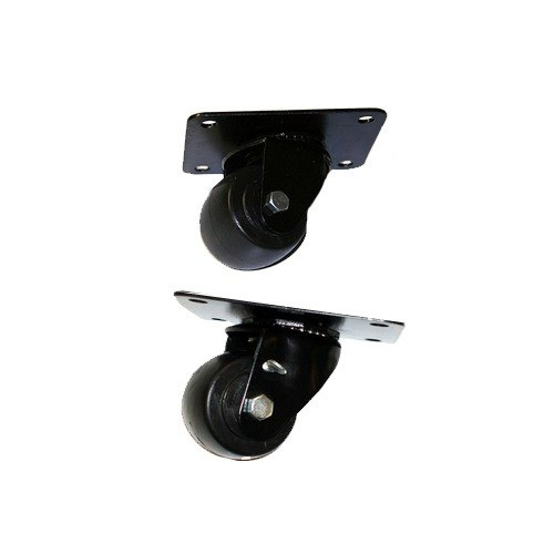 "True 923539 3"" Plate Casters - 6/Set Main Image 1"