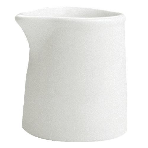 Hall China 3751/22AWHA Ivory (American White) 1 oz. Tankard Creamer - 72/Case