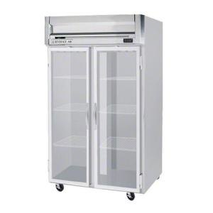 """Beverage-Air HFP2-1G-LED Horizon Series 52"""" Glass Door Reach-In Freezer with LED Lighting"""