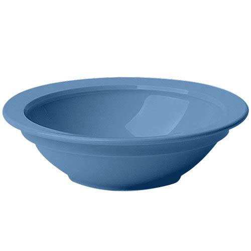Cambro 45CW401 Camwear 5 oz. Slate Blue Polycarbonate Fruit / Monkey Dish - 48/Case