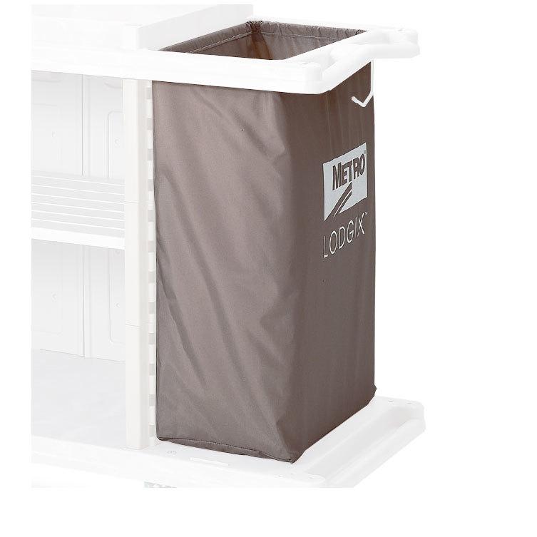 Metro LXHK4-NB Vinyl Coated Nylon Laundry Bag for Lodgix Tall Height Housekeeping Carts