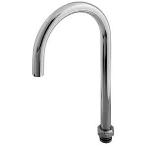 """T&S BF-0136-X Big Flo Swivel Gooseneck with Plain Tip and 12 1/4"""" Clearance"""