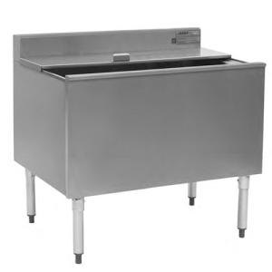 """Eagle Group B48IC-22-7 48"""" Ice Chest with Sealed-In Cold Plate and 8"""" Deep Bin"""
