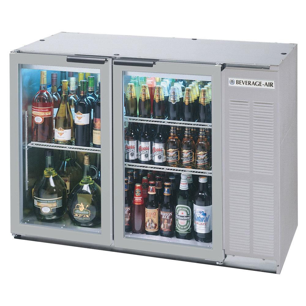 beverage air bb48gy 1 ss led wine 48 ss back bar wine series refrigerator narrow depth 2. Black Bedroom Furniture Sets. Home Design Ideas