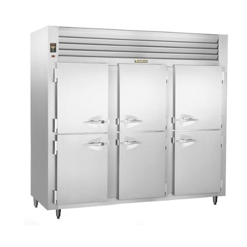 Traulsen ALT332NUT-HHS 69.5 Cu. Ft. Three-Section Solid Half Door Narrow Reach-In Freezer - Specification Line