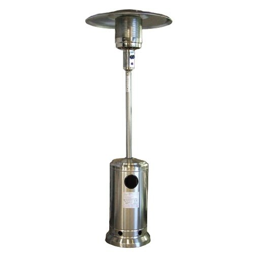 - Stainless Steel Propane Outdoor Patio Heater - 37,500 BTU