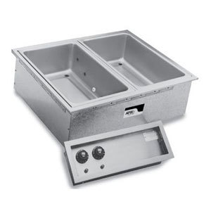 APW Wyott SHFWEZ-6D EZ-Fill 6 Well Insulated Drop In Hot Food Well - 208 / 240V Main Image 1