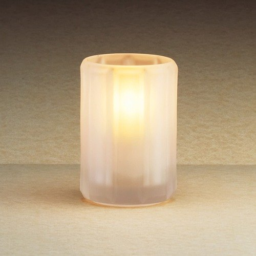 """Sterno 80182 4"""" Paragon Frosted Fluted Liquid Candle Holder Main Image 1"""