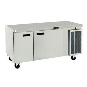 "Delfield 18660BUCM 60"" Undercounter Refrigerator with Two Doors - 15.1 Cu. Ft."