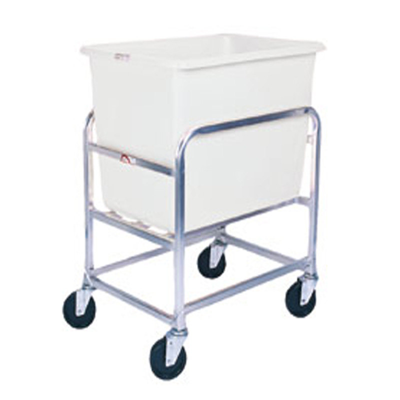 Winholt 30-6-A/WH Aluminum Bulk Mover with 6 Bushel White Tub