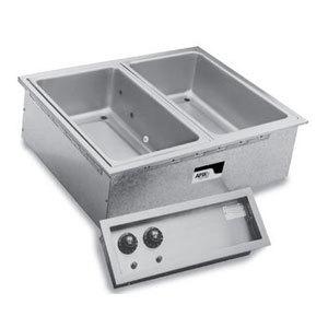 APW Wyott SHFWEZ-3D EZ-Fill 3 Well Insulated Drop In Hot Food Well - 208 / 240V Main Image 1