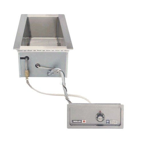Wells 5P-MOD100TDAF 1 Pan Drop-In Hot Food Well with Drain and Autofill - Thermostatic Control, 208/240V Main Image 1
