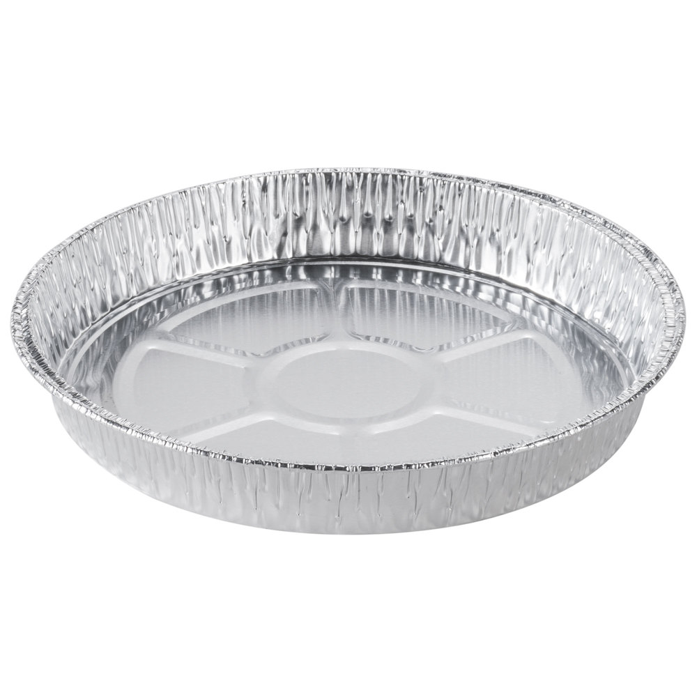 Dw Fine Pack C68 8 Inch Shallow Foil Cake Pan