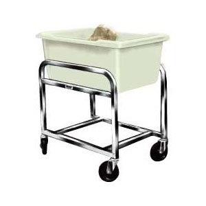 Winholt BLC-1 Aluminum Bulk Mover with 3 Bushel White Tub