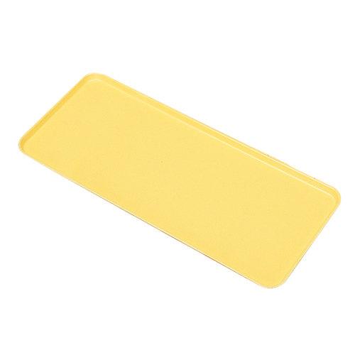 "Cambro 926MT145 Yellow Fiberglass Market Tray 9"" x 26"" - 12/Case"
