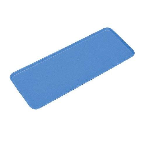"""Cambro 830MT142 Blue Fiberglass Market Tray 9"""" x 30"""" - 12/Case"""